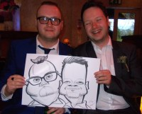 Caricature Wedding Caricaturists Cheshire